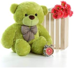 Zoonio Soft & cute Green color  teddy Bear 80 cm