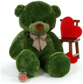 Zoonio soft & cute green color teddy bear 80 cm