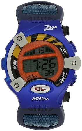 Zoop Digital Watch with Blue Strap for Boys