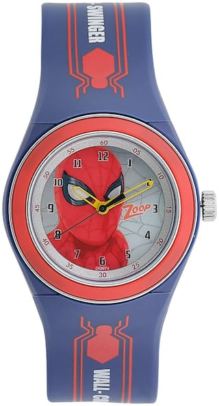 Zoop  Dial Analog Watch for Kids (Blue)