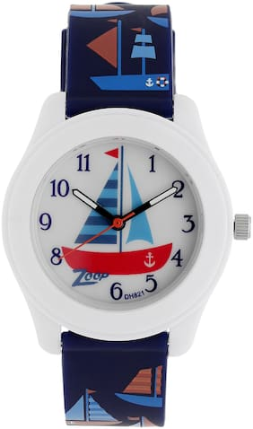 Zoop Multicoloured Dial Analog Watch for Kids