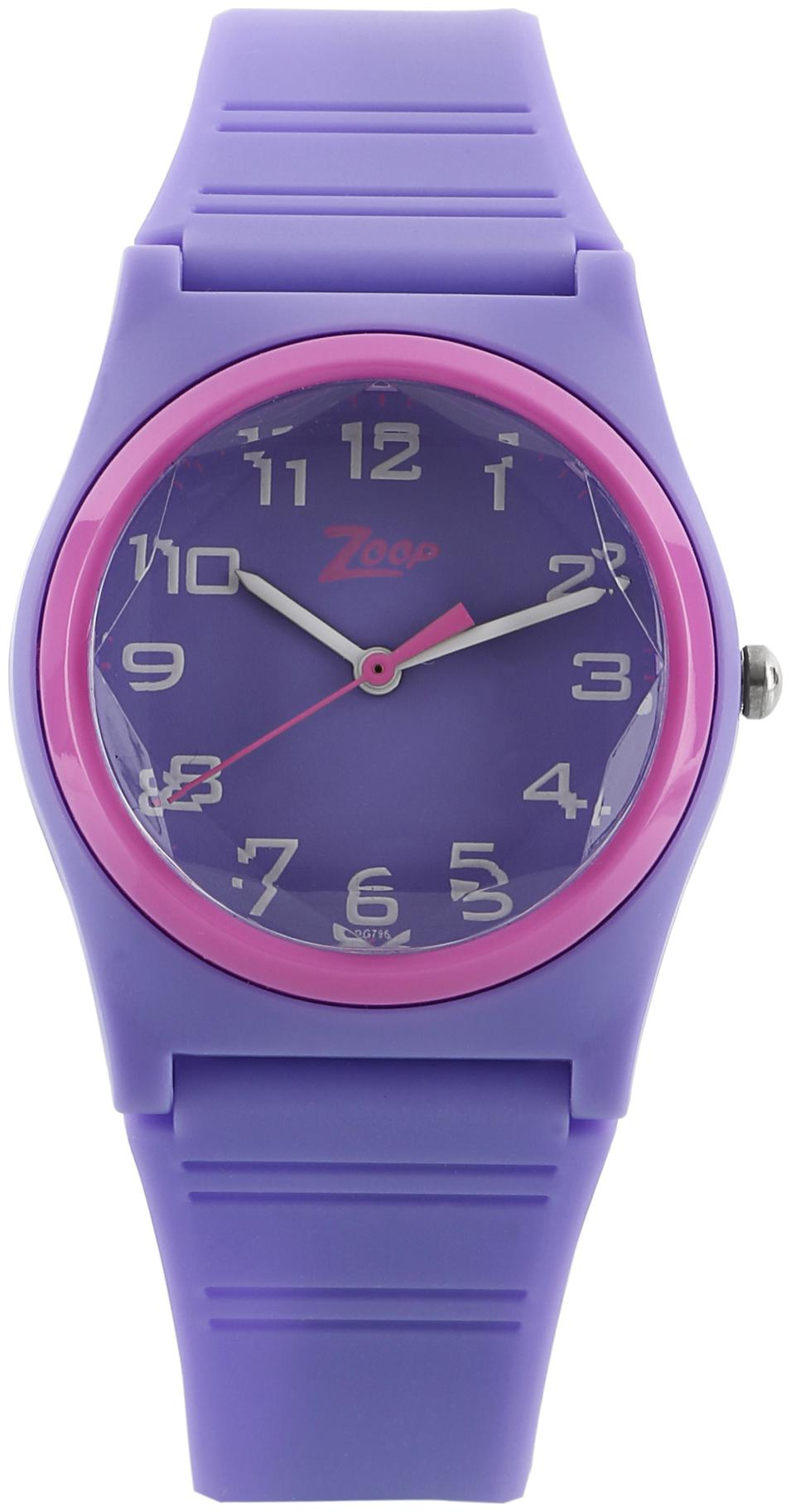 Zoop Purple Dial Analog Watch for Boys