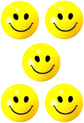 zukunft fashion smiley face stress relieve squeeze soft ball for kids