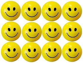 zukunft fashion cute smiley balls stress buster pack of 12