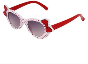 Zyaden Kids Red Cat-Eye Sunglasses 7