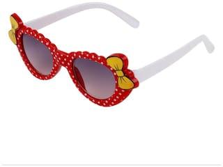 Zyaden Kids Red Cat-Eye Sunglasses 13