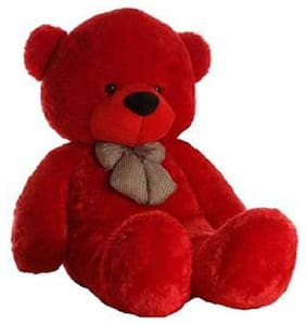 Red Teddy Bear - 80 cm