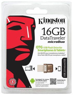 Kingston Data Traveler MicroDuo 16 GB 2-in-1 Pen Drive