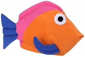 Tickles Fish Cushion - 43.18 Cm