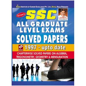 Ssc All Graduate Level Exams Solved Papers 1997-Upto Date English