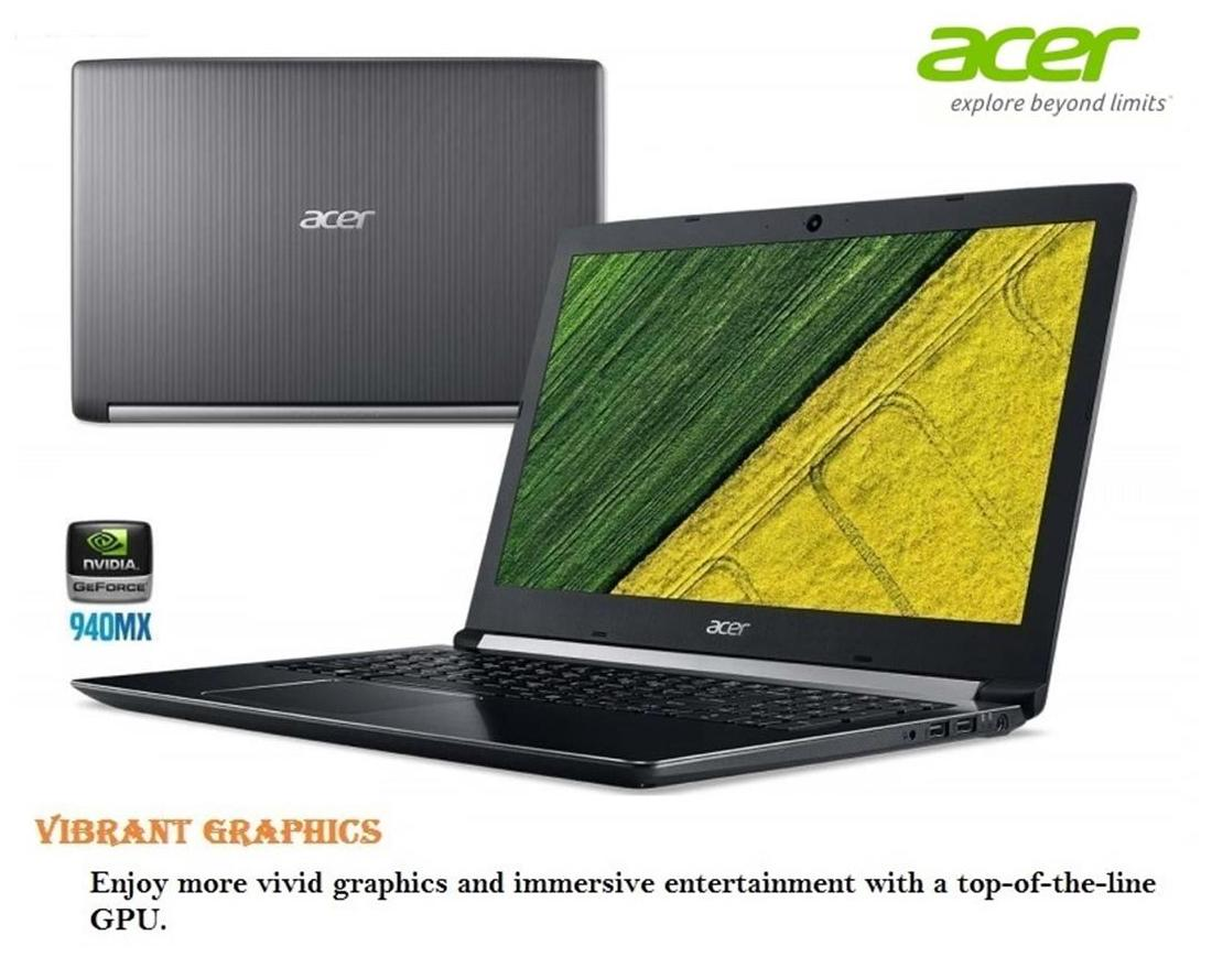 Acer A515-51G (NX.GPDSI.003) (Intel Core i3 (7th Gen)/4GB/1TB HDD /15.6(39.62 cm)/Linux/2GB Graphics) (Iron)