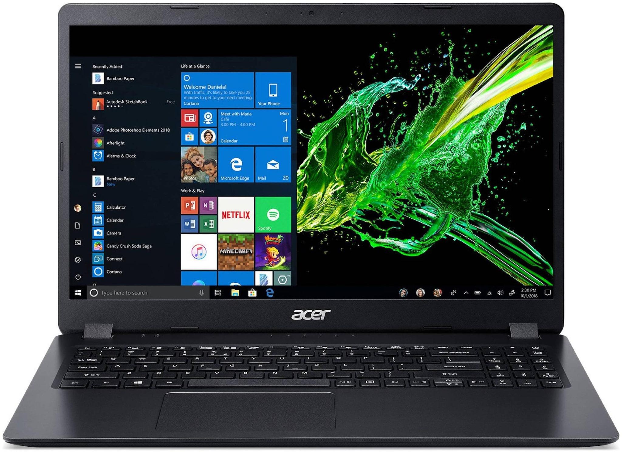 Acer Aspire 3 UN.HF9SI.039 Ryzen 3 Dual Core 3200U    4  GB/1 TB HDD/Windows 10 Home  A315 42 Laptop   15.6 inch  Black  1.9 kg