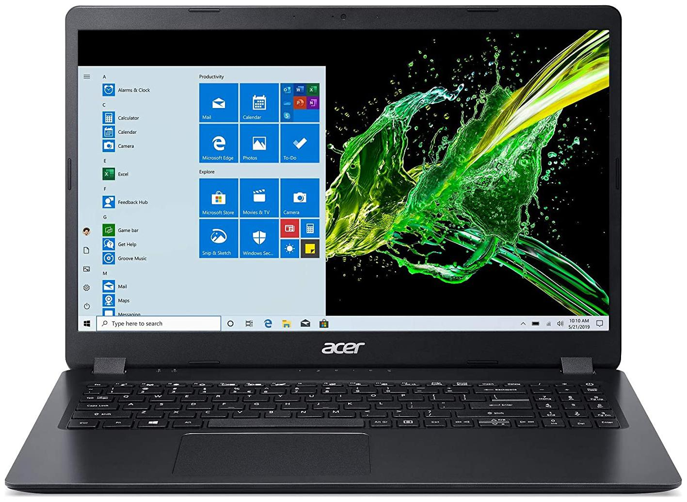 Acer Aspire 3 A315-56 15.6-inch Laptop (Intel Core i5-1035G1/8GB/1TB HDD/Window 10, Home,...