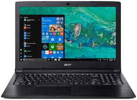 Acer Aspire 3 NX.H38SI.002 15.6 inch 39.62 cm Laptop (8th Gen Intel Core i3-8130U/4GB/1TB/Windows 10 Home/Integrated Graphics), Obsidian Black 2.1 kg