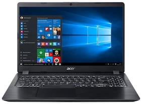Acer Aspire 5 Slim(Core i5-8265U (8th Gen)/8 GB/16 GB intel Optane + 1 TB HDD/39.62 cm (15.6 inch) FHD/Windows 10/Ms Office/2GB NVIDIA GeForce MX150) A515-52G-514L (Black,1.9kg)
