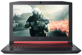"Acer Nitro 5 AN515-51 NH.Q2QSI.012 (Intel Core i5 (7th Gen)/8GB DDR4/1TB HDD/128GB SSD/15.6""(39.62 cm)/Windows 10 + Ms Office/4GB GDDR5 NVIDIA Geforce GTX 1050 Ti Graphics) (Black)"