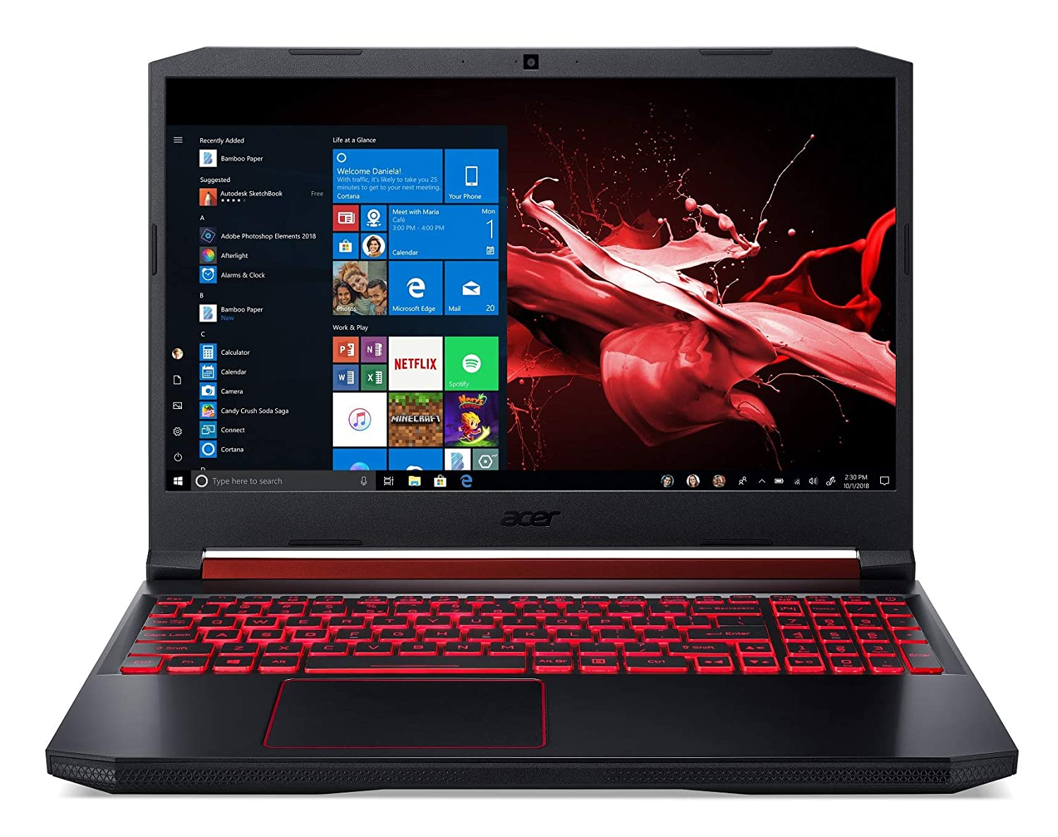 Acer Nitro 5 (Intel Core i5- 9th Gen/ 8 GB RAM/ 1...