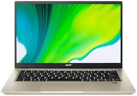 Acer Swift 3 SF314-59 (Intel Core i5-11th Gen/16 GB RAM/512 GB SSD/35.56 cm (14 inch)/FHD/Windows 10/4 GB Intel Iris X Max Graphics)Thin and Light Laptop (Safari Gold, 1.2 kg)