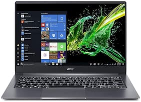 Acer Swift 3 SF314-57-58V7 (Intel Core i5-10th Gen/8 GB RAM/512 GB SSD/35.56 cm (14 inch)FHD/Windows 10/Thin and Light) NX.HJFSI.001 (Steel Grey, 1.7 kg)