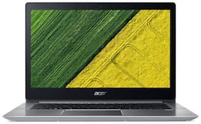 "Acer Swift 3  (Core i3 (7th Gen)/4 GB/256 GB SSD/""14"" FHD/Linux) SF314-52 (NX.GNXSI.001) (Sparkly Silver, 1.8 kg)"