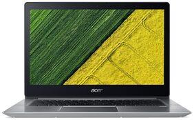 Acer Swift 3  (Core i3-7th Gen/4 GB/256 GB SSD/35.56 cm (14 Inch) FHD/Linux) SF314-52 (NX.GNXSI.001) (Sparkly Silver, 1.8 kg)