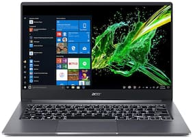 Acer Swift 3 SF314-57G 14-inch Laptop (10th Gen Intel Core i5-1035G1 processor/8GB LPDDR4/512 SSD/Windows 10/2GB NVIDIA GeForce MX250 Graphics/Thunderbolt 3) (Steel Grey 1.18 kg)