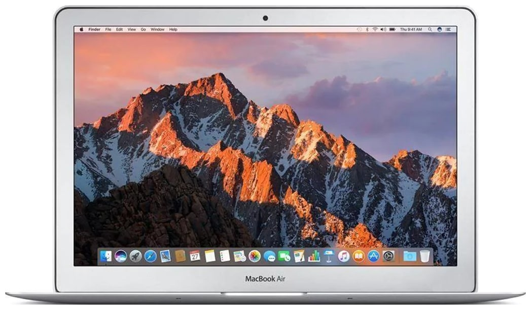 Apple Macbook Air  Intel Core i5 / 8  GB LPDDR3 / 128  GB SSD / 33.78 cm  13.3 Inch  / Mac OS  MQD32HN/A  Silver 1.35 kg  by Sunram Gadgets