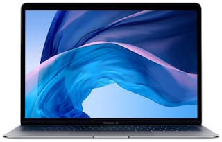 Apple MacBook Air  ( Core i5 - 8th Gen/8 GB/128 GB SSD/33.78 cm (13.3 inch)  Retina Display/Mac OS/  Touch ID) MRE82HN/A Thin & Light Laptop (Space Grey, 1.25 kg)