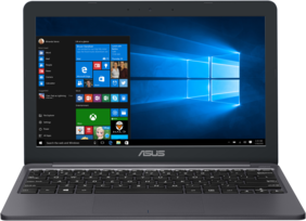 "ASUS Eeebook E203 (Celeron/4 GB/500 GB/11.6""/Windows 10) E203MAH-FD005T Ultra Slim Laptop (Grey, 0.97 Kg)"