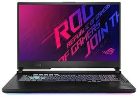 Asus Gaming Laptop ROG Strix G17 i7-10750H (Intel Core i7 10th Gen/16 GB RAM/512 GB SSD + 512 GB SSD/43.94 cm (17.3 inch)/Graphics RTX2060-6GB/Windows 10 G712LV-EV004TS (Black, 2.24 Kg)