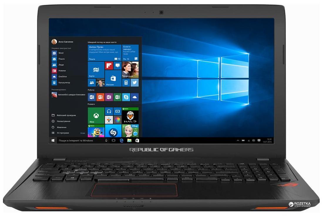 Asus GL553VE-FY127T ROG (Core i7- 7th Gen/16GB DDR4/256GB SSD+ 1TB HDD/15.6 Full HD/4GB GTX1050Ti/Win10) (Black)