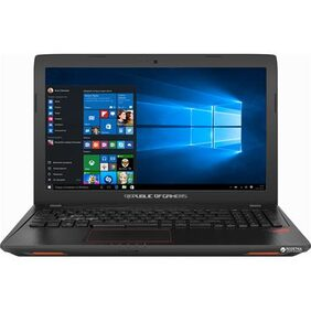 Asus GL553VE-FY127T ROG (Core i7- 7th Gen/16GB DDR4/256GB SSD+ 1TB HDD/15.6 Full HD/4GB GTX1050Ti/Win10) (Black)