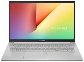 Asus K513EA-BQ303TS (Intel Core i3 11th Gen/ 4 GB/256 GB SSD/39.62 cm (15.6 inch)/Windows 10/Integrated) (Spangle Silver, 1.8kg)