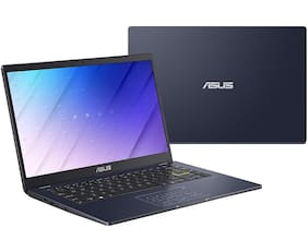 "Asus E410MA-EK319T Laptop (Intel Pentium Silver N5030 @1.1GHz / 4GB RAM / 256GB PCIe SSD / 14"" FHD Screen / Windows 10 Home / Peacock Blue / 1.4kgs/ No ODD) Without Optical Drive"