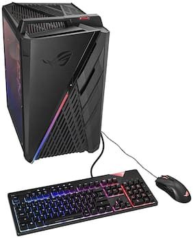 ASUS ROG Strix G35DX-IN008T Gaming Desktop (AMD 8 Core Ryzen 7-3700X/8GB RAM/1TB HDD + 512GB SSD/Windows 10/6GB NVIDIA GeForce RTX 2060 Graphics) with Keyboard & Mouse