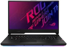 ASUS ROG Strix Scar 17 (Intel Core i7 / 10th Gen / 16 GB DDR4 1 TB SSD / 43.94 cm (17.3 inch)/ 8 GB NVIDIA GeForce RTX Windows 10) G732LXS-HG010T (Original Black, 2.99 kg)