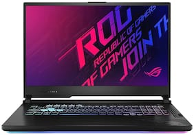 Asus ROG Strix G17 (Intel Core i7-10750H/16 GB RAM/512 GB SSD + 512 GB SSD/43.94 cm (17.3 inch)/FHD/Windows 10 Home/NVIDIA Geforce GTX 1660Ti-6 GB Graphics) G712LU-EV008TS (Black, 2.5 kg)