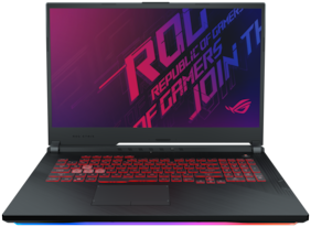 ASUS ROG Strix G G731GT 43.94 cm (17.3 inch) FHD Gaming Laptop GTX 1650 4GB Graphics (Core i7-9750H 9th Gen/16GB RAM/1TB PCIe SSD/Windows 10/Black/2.85 kg), G731GT-AU059T