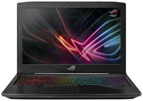 Asus ROG Strix GL503 ( Core i7- 8th Gen/16 GB/1 TB + 256 GB SSD /39.62 cm (15 Inch) FHD/ Windows 10/ 4 GB Graphics) Gaming Laptop GL503GE-EN038T (Black, 2.6 Kg)