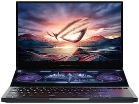 Asus ROG Zephyrus Duo 15 (Intel Core i7- 10th Gen/32 GB RAM/2 TB SSD/39.62 cm (15.6 inch)/Windows 10) GX550LXS-HC145TS (Gunmetal Grey , 2.48 kg)