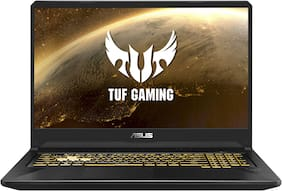 ASUS TUF FX705 ( AMD Ryzen 5-3550H/ 8GB/1TB HDD/ 43.94 cm (17.3 inch)/FHD/Windows 10/ 4GB NVIDIA GeForce GTX 1650) Gaming Laptop FX705DT-AU094T (Stealth Black, 2.7 kg)