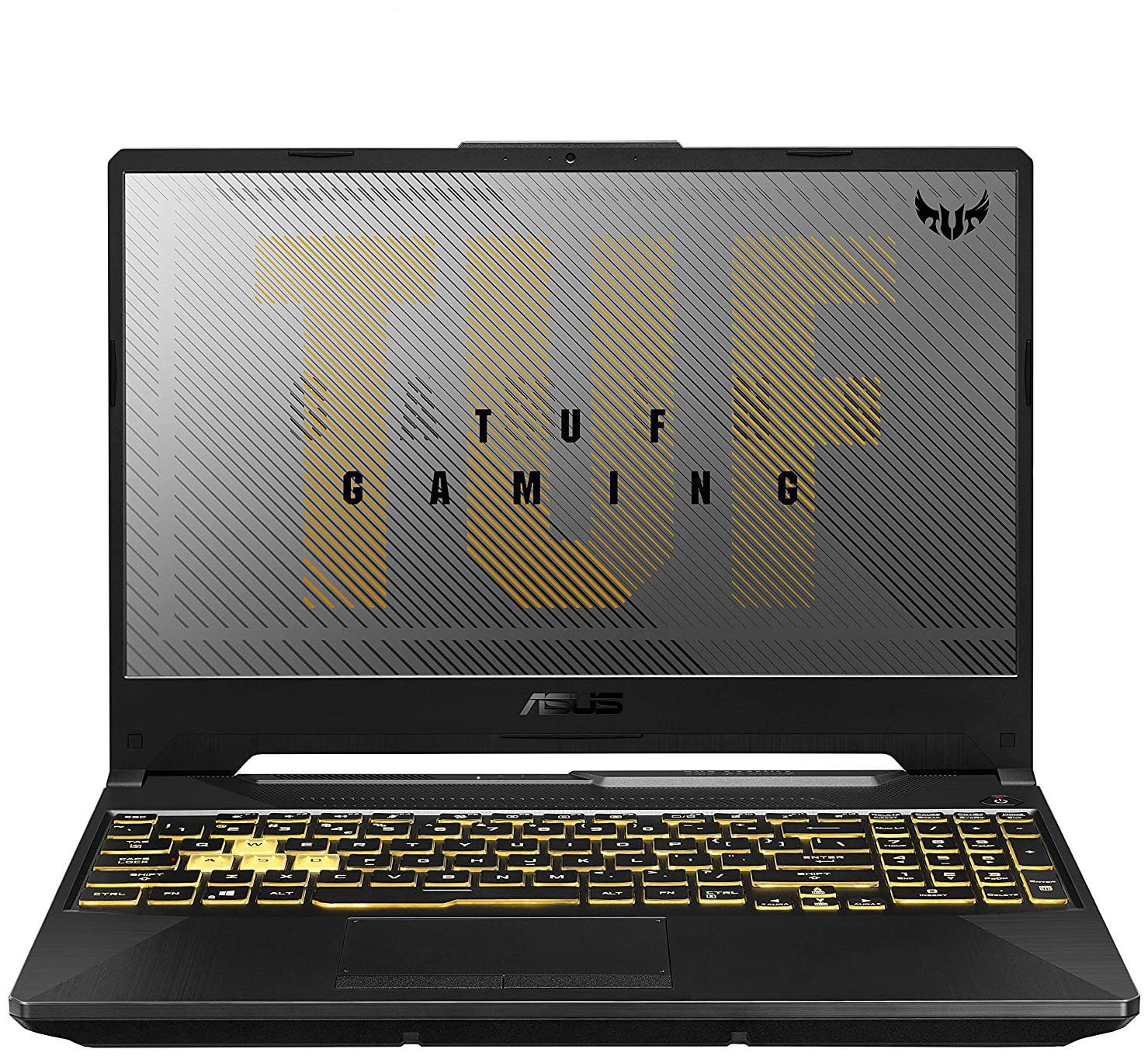ASUS TUF Gaming A15  AMD Ryzen 7 4800H/16  GB RAM/1 TB HDD + 512  GB NVMe SSD/39.62 cm  15.6 inch /Windows 10/6  GB GDDR6 NVIDIA GeForce GTX 1660 Ti Grap