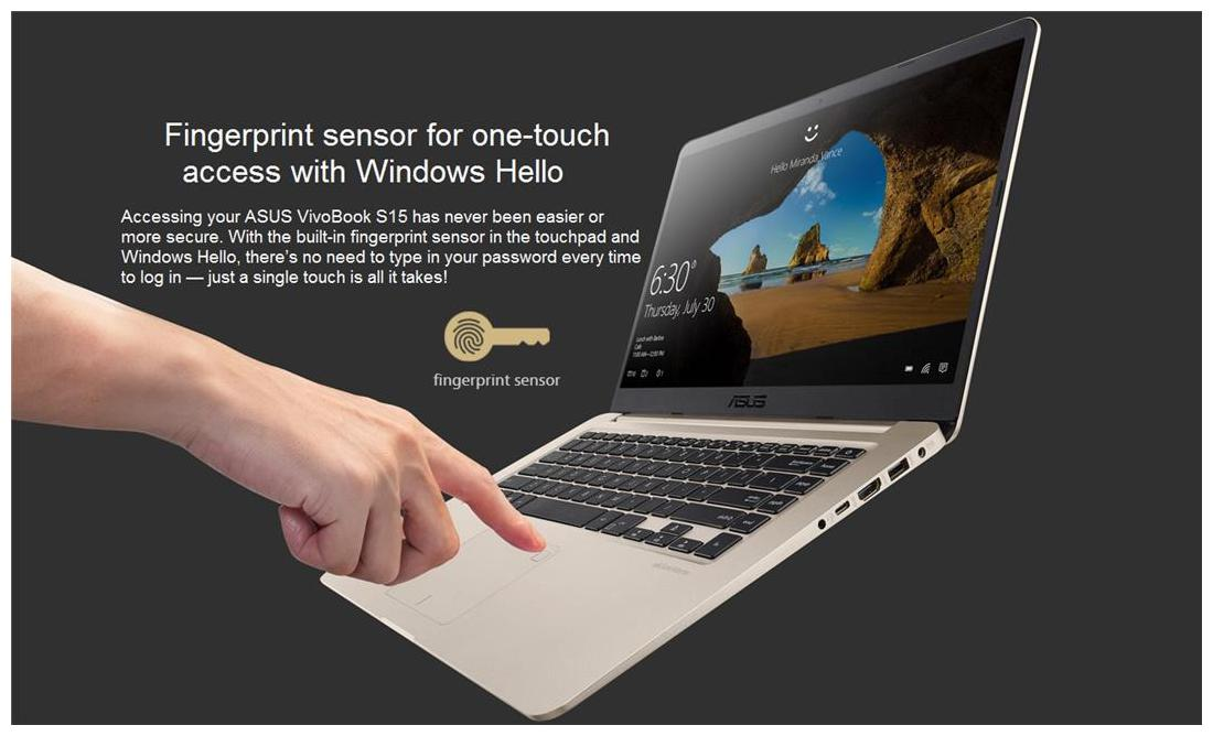 Asus VivoBook S15 S510 (Core i5-8th Gen /8 GB/ 1 TB / 39 62 cm (15 Inch)  FHD/Windows 10/ 2 GB Graphics) UN-BQ217T Thin & Light Laptop (Gold, 1 7 Kg)