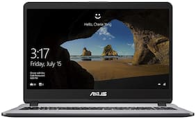 Asus Vivobook (Core i3-7th Gen/8 GB RAM/1 TB HDD/39.62 cm (15.6 inch)/Windows 10/Intel HD Graphics 520 Graphics) X507UA-EJ838T (Stary Grey, 1.68 kg)