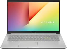 ASUS VivoBook Ultra K15-Intel Core i5-1135G7/15.6-inch FHD IPS(8GB RAM/512GB NVMe SSD/Win. 10+Ms Office H&S2019+Antivirus/Intel Iris X? Graphics /Transparent Silver/1.80 kg),K513EA-BQ503TS