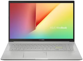 ASUS VivoBook (Intel Core i5-1135G7/16GB DDR4/1TB SATA + 256GB NVMe PCIe SSD /15.6 inch Full HD/Intel Iris X Graphics/ Finger Print /Backlit Keyboard/ Win10 /transparent Silver) K513EA-BQ563TS