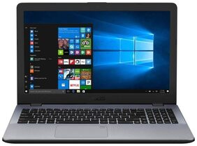 "Asus Vivobook R542UQ-DM153 (Intel Core i5-7th Gen/ 8GB DDR4/1TB HDD/ 15.6"" Full HD/ DOS/ NVIDIA 940MX 2GB GDDR5) Dark Grey"