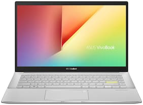 ASUS VivoBookS14 (AMD Ryzen 5- 4th Gen/ 8 GB RAM / 512 GB SSD/ 35.56 cm (14 inch) / FHD/ Windows 10/ M433IA-EB593TS (Dreamy White , 1.4kg)
