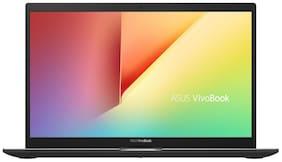 ASUS VivoBook Ultra K14 K413FA-EK818T Thin and Light Laptop (Intel Core i3-10110U 10th Gen/14-inch FHD/4GB RAM/512GB NVMe SSD/Windows 10/Integrated Graphics/Indie Black/1.40 kg)