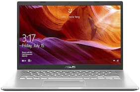 Asus VivoBook 14 AMD Ryzen 5 8 GB DDR4 1 TB HDD 35.56 cm (14 inch) Windows 10 M409DA-EK555T (Transparent Silver, 1.5 kg)